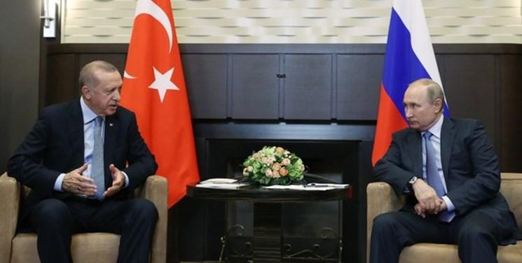 گفتوگوی تلفنی پوتین و اردوغان درباره اوضاع ادلب
