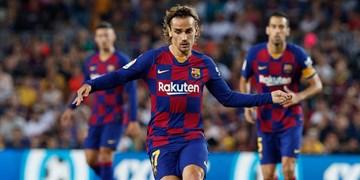 واکنش بارسلونا به تمایل غولهای منچستر برای جذب گریژمان