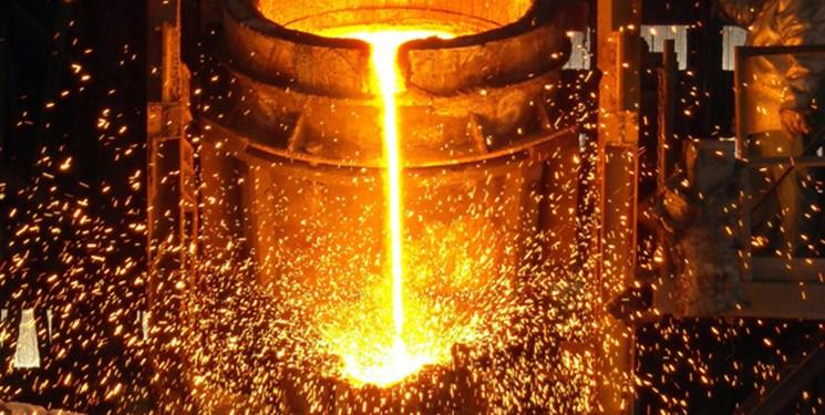 تولید فولاد ایران 4 درصد رشد کرد/افت 4درصدی تولید جهانی