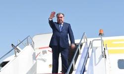 رئیس جمهور تاجیکستان عازم روسیه شد