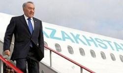 «نظربایف» وارد «سن پترزبورگ» شد