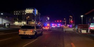 فیلم | جنایتی دیگر از پلیس آمریکا؛ چهار نفر در زیرگیری با خودرو مجروح شدند