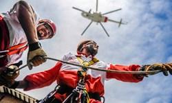 نجات جوان ۲۶ ساله کرمانشاهی با عملیات راپل هوایی