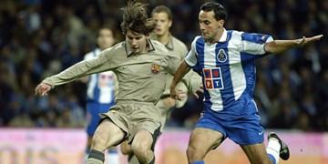 فیلم/ اولین بازی رسمی مسی برای بارسلونا؛ جوانی 16 ساله که یک موقعیت را از دست داد