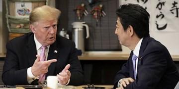 نخستوزیر ژاپن تلفنی با ترامپ گفتوگو کرد