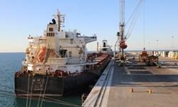 ورود دومین کشتی حامل 435 کانتینر گندم هند به بندر چابهار