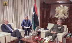 دولت وفاق لیبی، دیدار وزیر خارجه یونان با «حفتر» را محکوم کرد