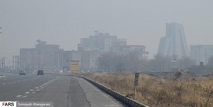 شاخص کیفیت هوای اراک در وضعیت ناسالم قرار گرفت