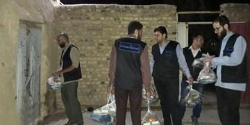 اطعام نیازمندان بازار و کورهپزخانههای تهران توسط گروه جهادی مسجد ارک