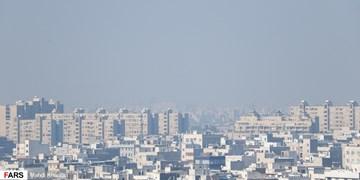 جولان ذرات معلق در شرایط کرونایی پایتخت/هوای تهران همچنان آلوده