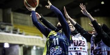 لیگ برتر بسکتبال بانوان| شکست نامینو در بازی دوم پلیآف