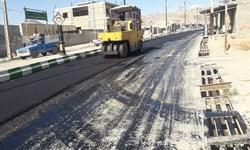 فارس من| لکهگیری معابر و خیابانها پس از مساعد شدن هوا در قوچان