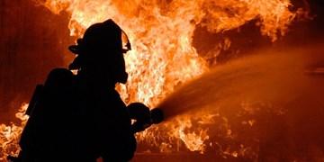 آتش سوزی در کارخانه «پالت سازی» شور آباد مهار شد