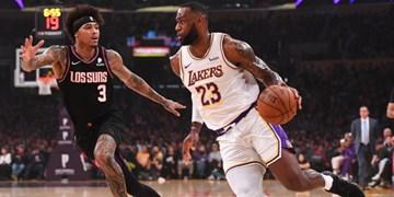 لیگ بسکتبال NBA  رکابزنی پادشاه در روزهای تعطیلی مسابقات