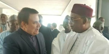 دیدار سرپرست سفارت ایران با مقامات ارشد نیجر