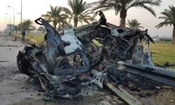 انتقال پیکر شهید سلیمانی و المهندس به بیمارستانی در بغداد