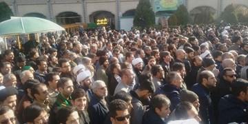 فیلم| راهپیمایی مردم مشهد در محکومیت حمله تروریستی آمریکا و شهادت سردار سلیمانی