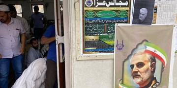 عزاداری مسلمانان کشور هند برای شهادت سردار سلیمانی+ فیلم و تصاویر