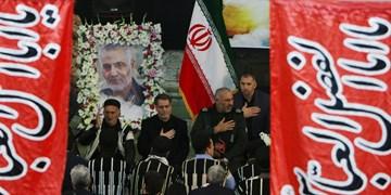 مراسم گرامیداشت شهید سلیمانی در شهرکرد