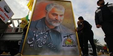پیکر شهید سپهبد سلیمانی و المهندس به کربلا منتقل شد