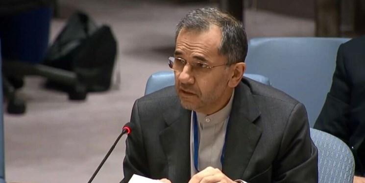 تختروانچی در نامه به رئیس مجمع عمومی: رفع تحریمهای آمریکا به نفع همه دنیا و یک ضرورت است