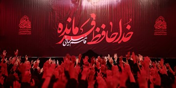 برگزاری مراسم بزرگداشت سردار شهید سلیمانی در سیسخت+فیلم و عکس
