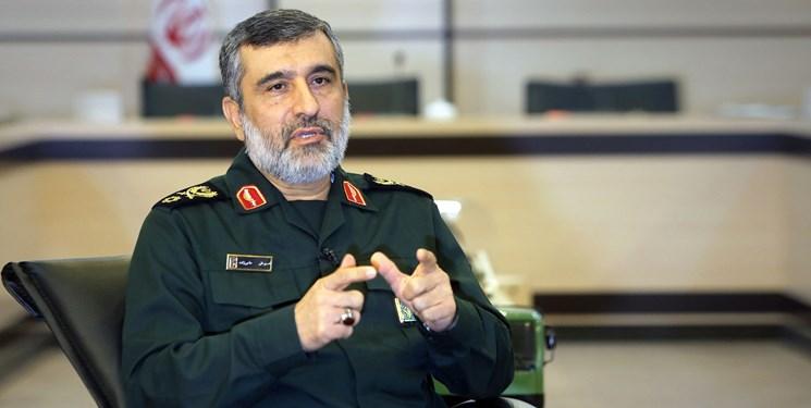 سردار حاجی زاده: انتقام از اقدام آمریکا در ترور سردار سلیمانی حتمی و قطعی است