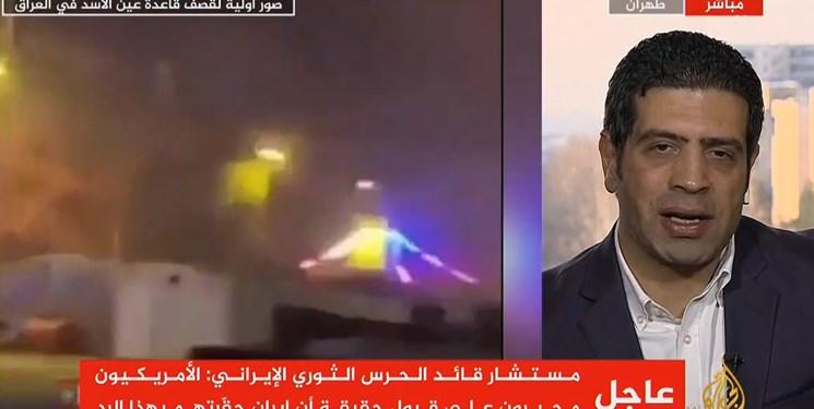 مدیر الجزیره در ایران: سپاه میگوید مرحله جدیدی آغاز کرده؛ مرحله زدن مستقیم پایگاههای آمریکا