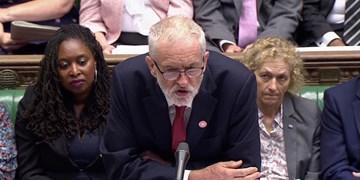 کوربین جانسون را «نخست وزیر پاره وقت» خطاب کرد