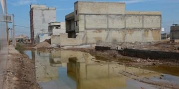 وضعیت بد خیابان و کوچه های امیرآباد آبادان