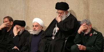 مراسم بزرگداشت سردار سلیمانی و همرزمانش از سوی رهبر انقلاب برگزار شد