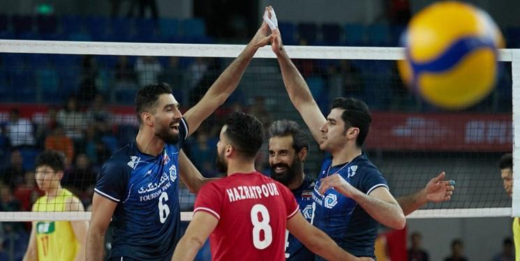 والیبال انتخابی المپیک| ایران ۳ ـ چین صفر؛ شاگردان کولاکوویچ به میزبان هم رحم نکردند