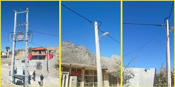 برقرسانی به روستاهای خلیلآباد خاکی و قله خاکی در بخش لاران