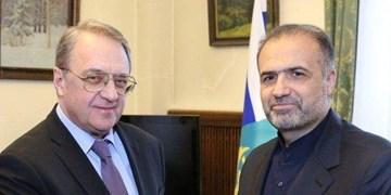 اوضاع منطقه و تحولات یمن محور گفتوگوی سفیر ایران با معاون وزیر خارجه روسیه