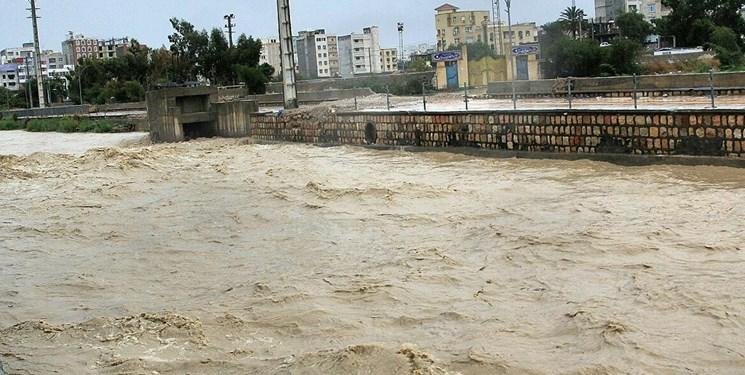 وضعیت رودخانههای نهاوند تحت کنترل است/ طغیان رودخانه گاماسیاب