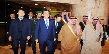 نخستوزیر ژاپن وارد ریاض شد