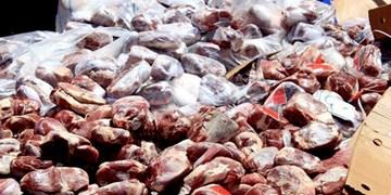 کشف ۶۰ تن گوشت منجمد احتکاری در شهرستان ری