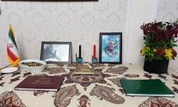 دفاتر یادبود شهید سلیمانی و جان باختگان سانحه هوایی در سفارت ایران در تاشکند