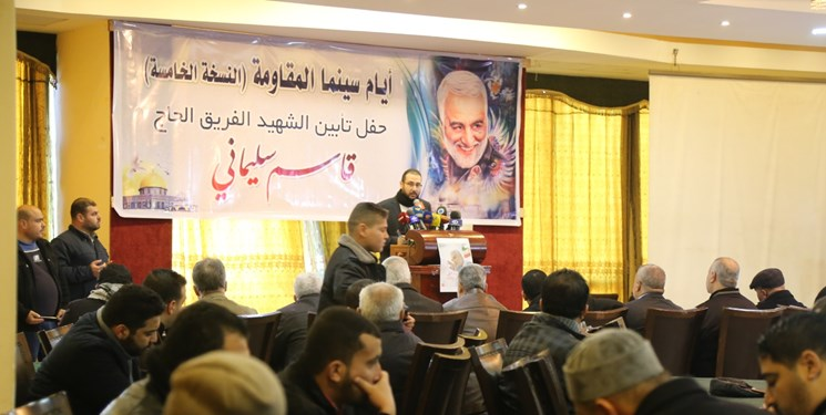 سخنرانی ۱۰ فرمانده جهادی فلسطین در یادبود شهید سلیمانی