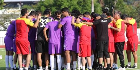 حلقه اتحاد در تمرین تیم امید/ استیلى: تا آخرین لحظه یکدل و متحد مىمانیم