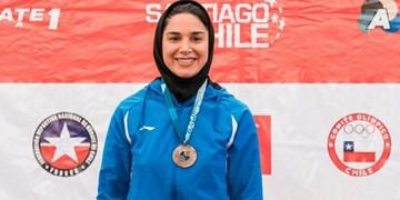 لیگ کاراته وان| علیپور دومین برنز تیم ایران را کسب کرد