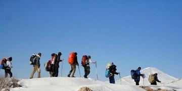 کوهنوردان گرفتار شده در ارتفاعات قوشخانه تکاب نجات یافتند
