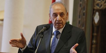 تأکید رئیس پارلمان لبنان بر تشکیل سریع دولت