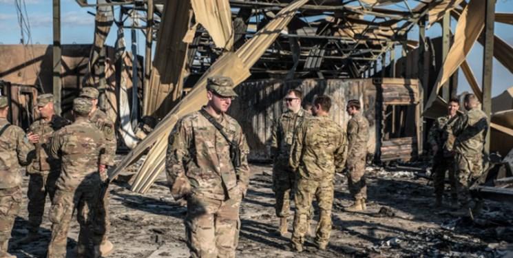 پنتاگون: 109 نظامی آمریکایی در حمله ایران به «عینالاسد» آسیب مغزی دیدند