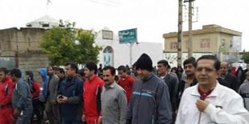 برگزاری همایش پیادهروی همگانی بزرگداشت شهید سلیمانی در دهدشت