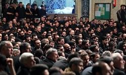 بزرگداشت شهدای حادثه سقوط هواپیما در کرمانشاه برگزار شد/ مردم همدرد خانوادههای داغدار