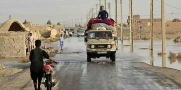 چند فریم از سیل سیستان و بلوچستان