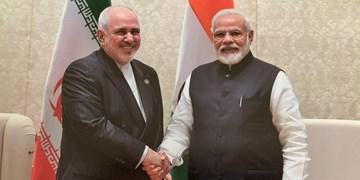 ظریف با نخستوزیر هند دیدار کرد