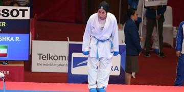 لیگ جهانی کاراته وان استانبول علیپور به مدال نقره بسنده کرد / مصدومیت مانع از حضور در فینال شد