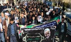 شهید سلیمانی پرچمدار و مبارزه امت اسلام علیه مستکبرین است